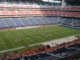 Nrg Stadium View From Club Level 313 Vivid Seats