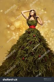Christmas Dresses For Baby Girls  Christmas Clothing Toddler Girls Christmas Tree Dress