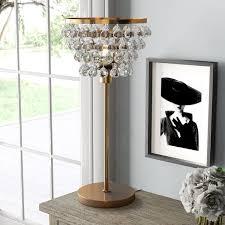 <b>Crystal Chandelier</b> Table <b>Lamp</b> | Wayfair