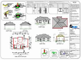 3 bedroom house plan in sa fresh cottage house plans house plans south africa simple house