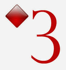 Image result for THREE of Diamonds card
