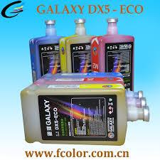 Inkjet Eco Solvent Ink For DX4 Dx5 Dx7 Printhead Galaxy Printer Ink ...