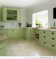 Kitchen:Green Painted Kitchen Cabinets Surprising Green Painted Kitchen  Cabinets 7