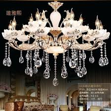 big chandeliers