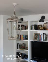lantern as living room light fixture