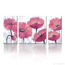 2018 modern art deco beautiful flower paintings handmade pictures on canvas wall art for home decor from paintingart2017 42 08 dhgate com