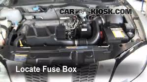replace a fuse 1995 2005 pontiac sunfire 1999 pontiac sunfire replace a fuse 1995 2005 pontiac sunfire 1999 pontiac sunfire se 2 2l 4 cyl sedan 4 door