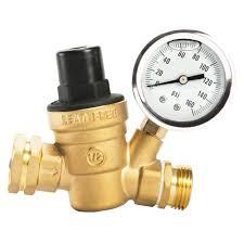 details about rv cer water pressure regulator gauge valve adjule garden hose plumbing