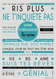 Affiche Pour Donner La Bonne Humeur Le Matin Vos Mentions J