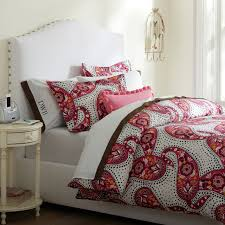 retro paisley duvet cover pillowcases pbteen