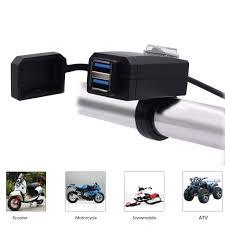 KEBIDU мотоцикл <b>автомобиль USB зарядное</b> устройство гнездо ...