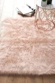 faux sheepskin rugs pink luxury rug fur target australia