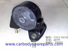 Automotive Rear Rubber Engine Mounting For Toyota Corolla AE100 ...
