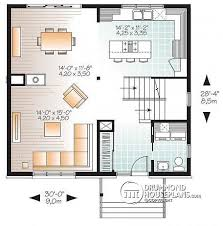 Small Picture House plan W3714 detail from DrummondHousePlanscom