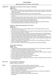 Outpatient Therapist Resume Samples Velvet Jobs
