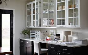 Office in kitchen Industrial Create Home Office In Your Kitchen Ikea Home Office Solution