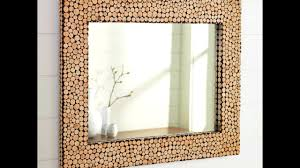 100 Mirror Design Creative Ideas 2017 - Amazing DIY Frame for Bathroom and  Bedroom - YouTube