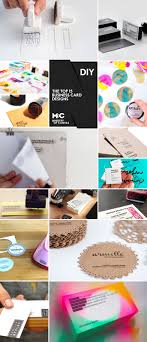 handmade diy business cards