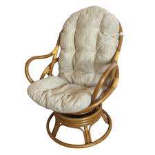 swivel and rocking chairs. Wicker Swivel Chair   Rattan Rocker Cushions And Rocking Chairs