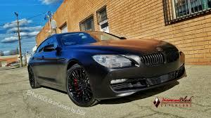 Sport Series 2013 bmw 650i gran coupe : Project BMW 650i GranCoupe Wrapped in Frozen Black by DBX - YouTube