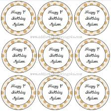 How To Make Pretty Labels Using Microsoft Word A Spark Of