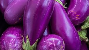 eggplant owes its vibrant skin color to the presence of anthocyanin