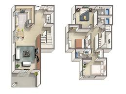 4 Bedroom ApartmentHouse Plans4 Bedroom Townhouse Floor Plans