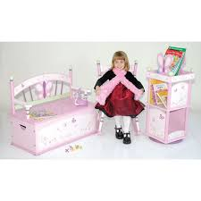 sugar plum toy box bench by levels of discovery thumbnail 2