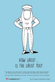 The Great Toe is the body's pivot and anchor. And should be able to engage  rapidly with the ground on every step. Does yours? T… | Great toe, Hope  anchor, Greatful