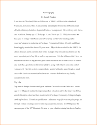 Sample Biography Timeline Sample of autobiography well screnshoots give example written essay 1