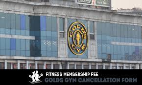 golds gym cancellation form