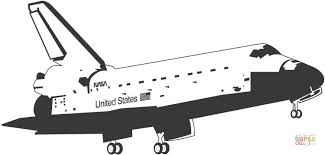 space shuttle coloring pages.  Space Click The Space Shuttle Coloring Pages  With Coloring Pages T