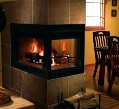 gas starter wood burning fireplace wood burning vs gas fireplace inch three sided wood burning fireplace gas starter