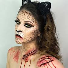 cat for creepy makeup ideas