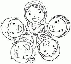 Small Picture Friendship coloring page Storytimes Pinterest Friendship
