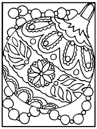 Christmas Ornament Coloring Page Crayola Com