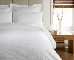 waffle egyptian cotton  thread duvet cover bed set