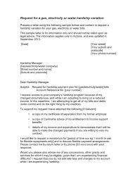 hardship sample letter hardship letter in word and pdf formats