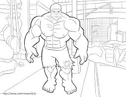 Free Avengers Coloring Pages Wumingme