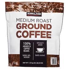 4.8 out of 5 stars 468. Kirkland Signature Medium Roast Coffee 40 Oz