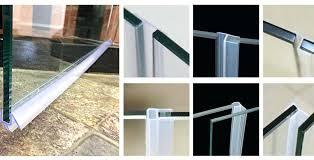 magnificent glass shower door seal glass shower door seal degree plastic strip suppliers glass shower door magnificent glass shower door seal shower