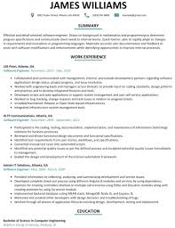 Resume Templates For Software Engineer Click Here To Download