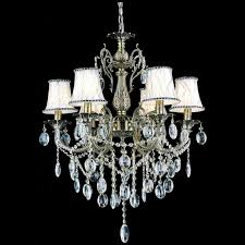 full size of living lovely chandelier with shade and crystals 23 fascinating 2 0001282 24 ottone