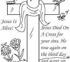 Free Coloring Sheets Pages Easter Jesus Religious Printable Book