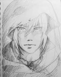 Manga Ideas Side Face And Hair In Cute How To Simple Best Drawing Ideas On How