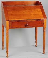 what qualifies as slant front desk antiques
