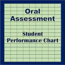 Performance Chart For Students Oral Assessment Student Performance Chart