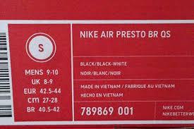 Nike Size In Cm 2019