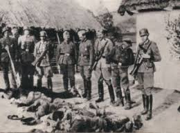 Znalezione obrazy dla zapytania Zbrodnie Wehrmachtu zdjecia