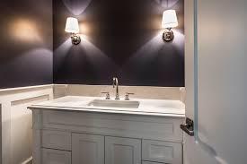 bathroom vanity second floor transitional style custom home glenview haus custom doors